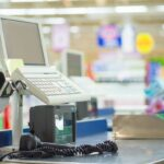 Caja y terminal punto de venta (TPV)